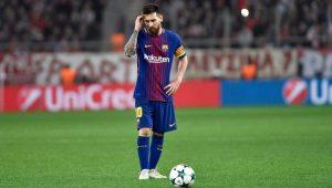 Futebol Liga dos Campeões Barcelona Messi