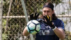 Futebol Corinthians Cássio