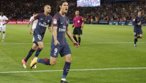 Futebol Campeonato Francês PSG Cavani