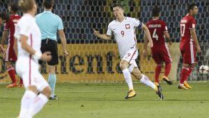 Futebol Eliminatórias Polônia Lewandowski
