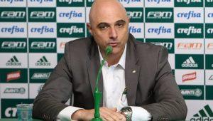 Presidente do Palmeiras não vê nenhum 'erro grave' da arbitragem em vitória contra o Vasco