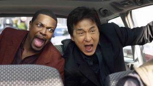 """Chris Tucker e Jackie Chan em cena de """"A Hora do Rus"""""""