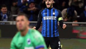 Futebol Campeonato Italiano Inter de Milão Icardi