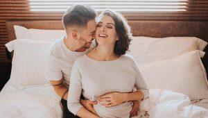 Junior Lima e Monica Benini em ensaio da 1ª gravidez