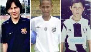 messi, neymar, cristiano ronaldo, criança