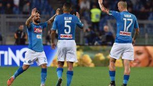 Futebol Campeonato Italiano Napoli Roma