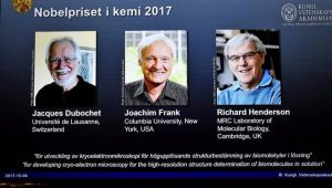Prêmio Nobel Química 2017