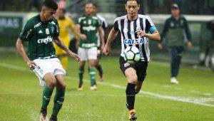 Futebol Palmeiras Santos Ricardo Oliveira