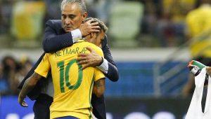 Tite exalta Coutinho e destaca evolução de Neymar: 'Aumentou seu arsenal'