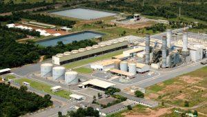Vista aérea da Usina Termelétrica Mário Covas