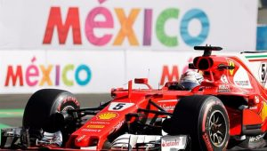 Fórmula 1 GP do México Treino Sebastian Vettel