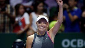 Tênis Torneio de Cingapura Caroline Wozniacki