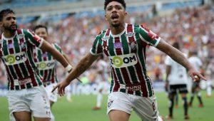 Douglas abriu o placar para o Fluminense na vitória ante a Ponte Preta