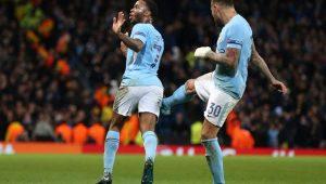 Sterling garantiu a vitória do Manchester City 1 a 0 Feyenord