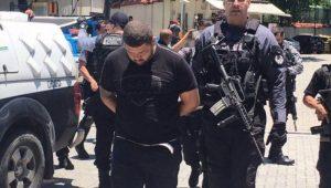 Traficante Alberto Ribeiro Sant'anna, o Cachorrão, foi preso pela Polícia Civil