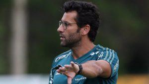Futebol Palmeiras Alberto Valentim