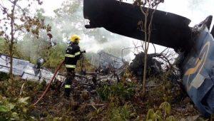 Aeronave que seguia para Anápolis, em Goiás, caiu próximo ao aeroporto da cidade de Goiás