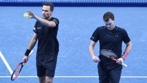 Tênis ATP Finals Bruno Soares Jamie Murray