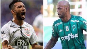 Futebol Corinthians Palmeiras Clayson Felipe Melo