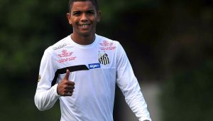 Futebol Santos David Braz