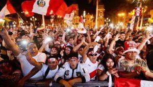 Torcida da seleção peruana