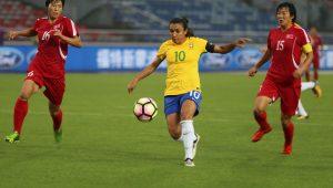 Futebol Feminino Seleção Brasileira Marta