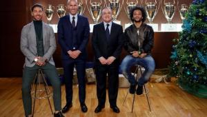 Florentino Peres, Marcelo, Sérgio Ramos, Zidane, Real, Real Madrid