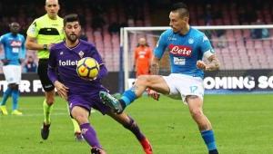 Futebol Campeonato Italiano Napoli Fiorentina