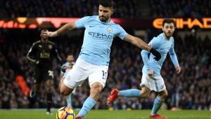 Agüero, do Manchester City, testa positivo para Covid-19: 'Tenham cuidado'