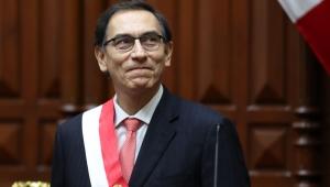 O ex-presidente do Peru, Martín Vizcarra,