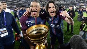 cavani, psg, mbappé, copa da liga francesa