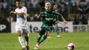 Lucas Lima, David Braz, Palmeiras, Santos