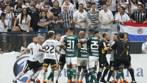 Palmeiras, corinthians, briga, campeonato paulista