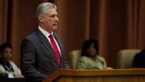 Miguel diaz Canel, presidente de cuba