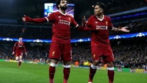 Liverpool, salah, firmino