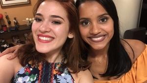 Gleici e Ana Clara