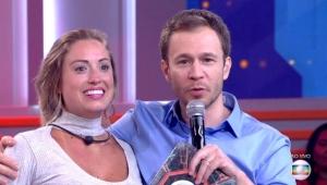 Jéssica e Tiago Leifert