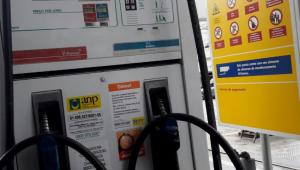 Bomba de gasolina em posto