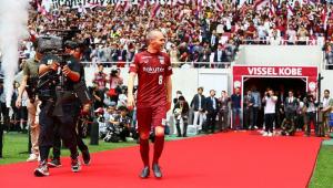 Iniesta faz Vissel Kobe bater recorde de arrecadação com patrocínios e bilheteria