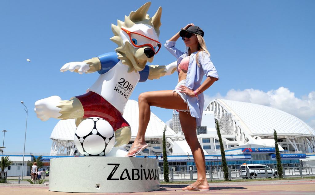 Segunda estátua do mascote Zabivaka é roubada em São Petersburgo