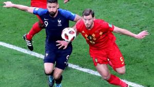 Giroud responde cutucada de Benzema: 'Sou um kart, mas com uma Copa do Mundo'