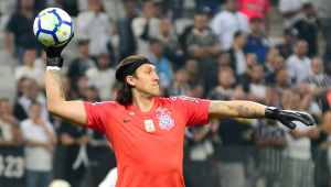 Cássio retoma braçadeira de capitão e afirma: 'Corinthians é o time a ser batido no Paulistão'