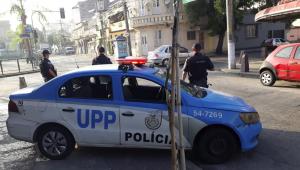Carro de polícia do RIo