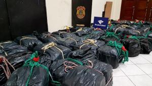 Mais de 26 toneladas de cocaína já foram apreendidas neste ano no Porto de Santos; número é recorde