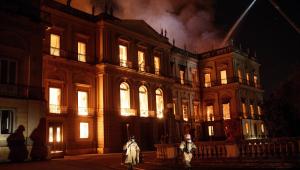 PF: Investigação conclui que incêndio no Museu Nacional não foi criminoso
