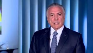 Temer divulga vídeo em que contesta críticas de Alckmin ao governo federal: 'fale a verdade'