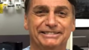 Jair Bolsonaro (PSL) afirma em vídeo que vai receber alta até o fim de setembro
