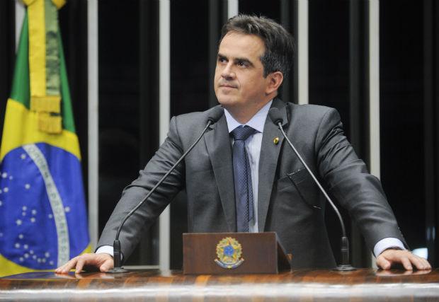 O deputado Ciro Nogueira no plenário da Câmara