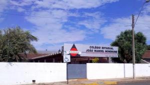 Colégio Estadual João Maniel Mondrone, no Paraná