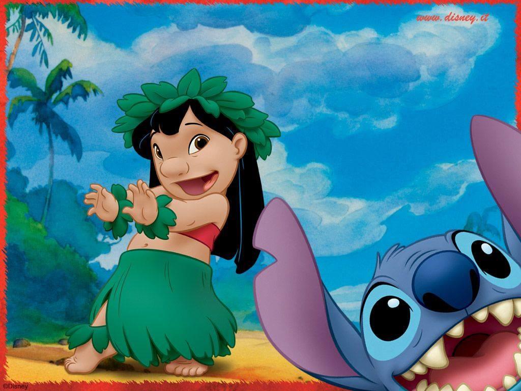 Desenho Animado Da Disney Lilo Stitch Ganhara Versao Live